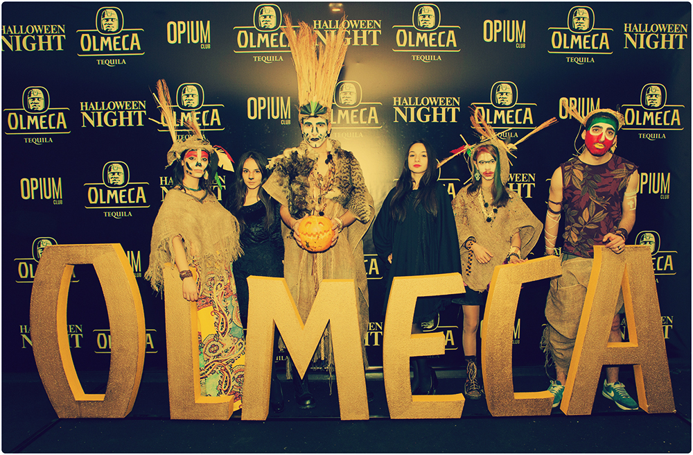 OLMECA halloween night  2015_01